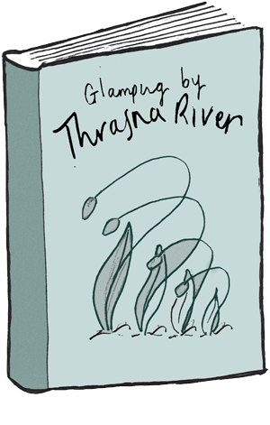glamping by thrasna river